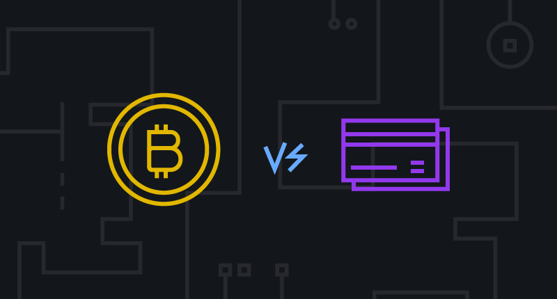 Bitcoin or credit card – crypto payments overview