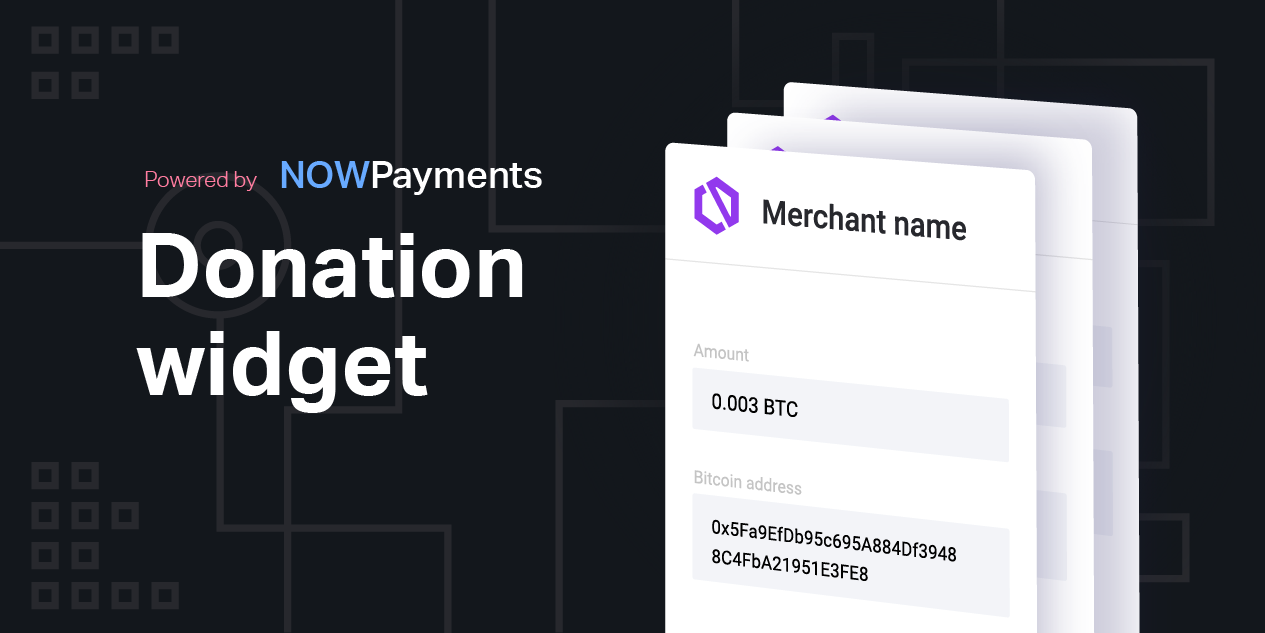 Donation Widget by NOWPayments