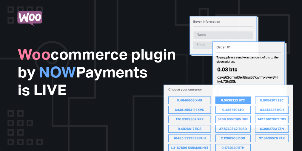 WooCommerce plugin to accept cryptocurrency on Wordpress website