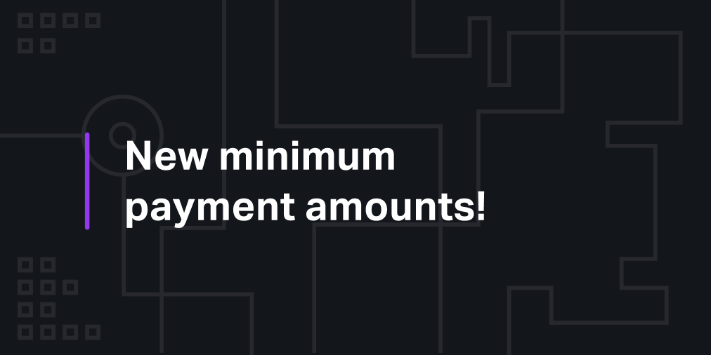 Minimal Crypto Payment Amounts – how to pay in cryptocurrency
