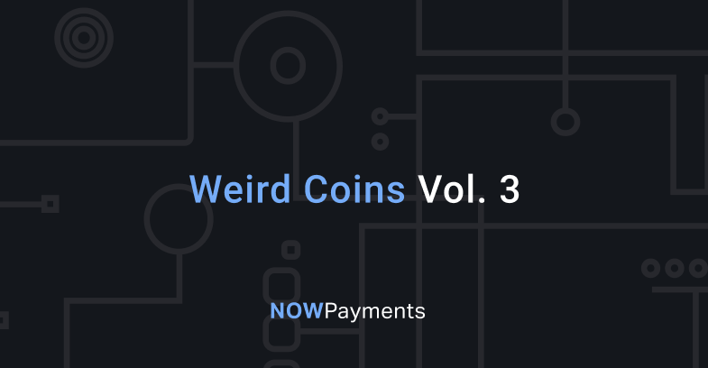 weird cryptocurrencies to accept on website