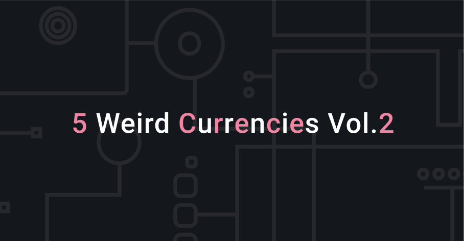 weird cryptocurrencies to exchange