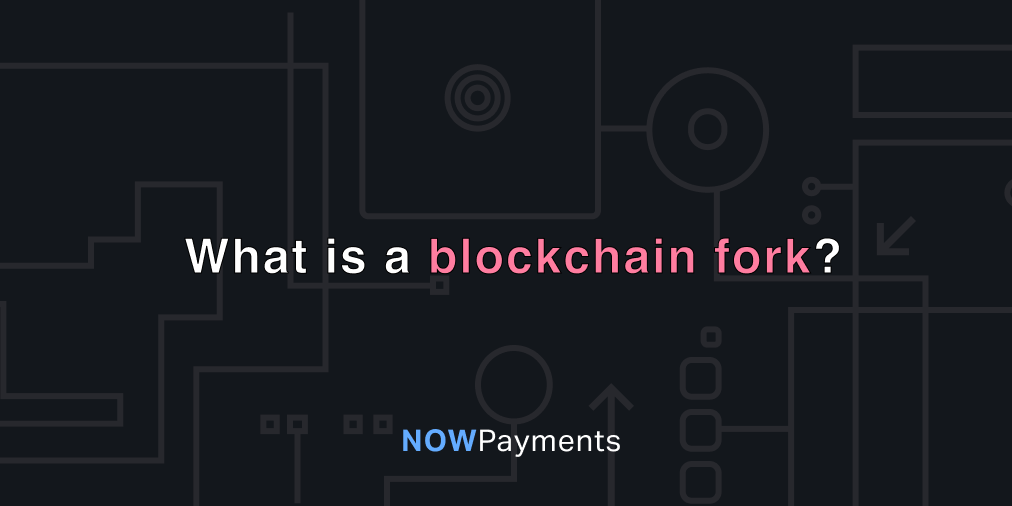 what is a blockchain fork