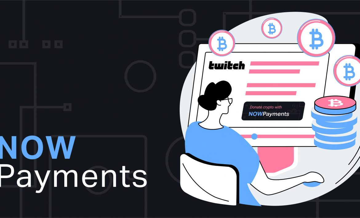 twitch crypto donation button