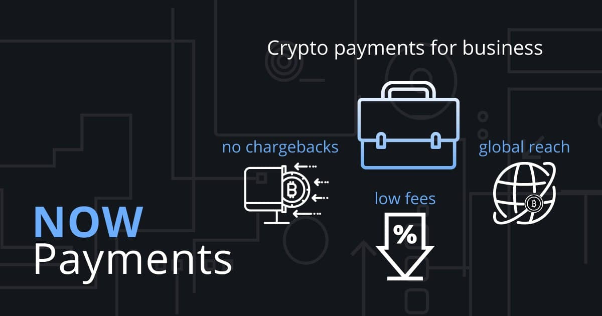 crypto payments for business