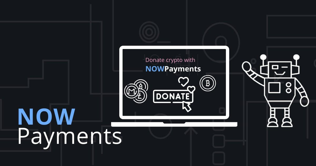 Donate Bitcoin with NOWPayments