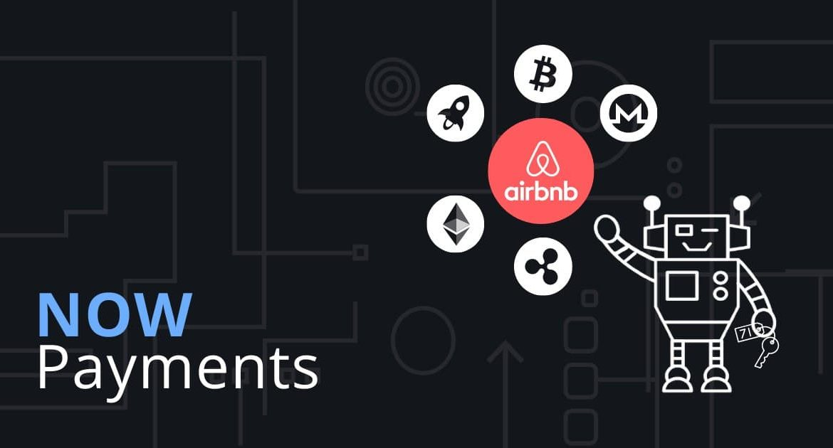 AirBNB crypto payments